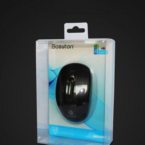 Chuột máy tính không dây Bosston Q8 có pin sạc