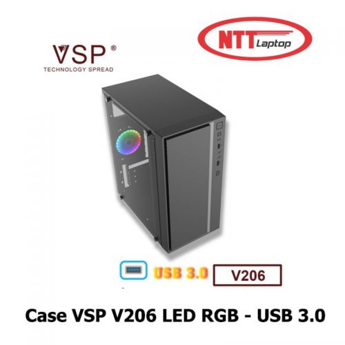 Case VSP V206 LED RGB - USB 3.0