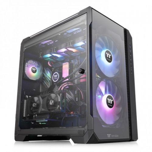 Case Thermaltake View 51 TG ARGB/Black/Win/SPCC/Tempered Glass*3/200mm ARGB Fan*2 + 120mm ARGB Fan*1/MB Sync