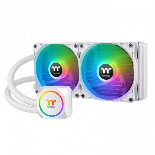 Fan Thermaltake TH240 ARGB Sync Snow Edition/All-In-One Liquid Cooling System/ARGB Fan 120*2/White