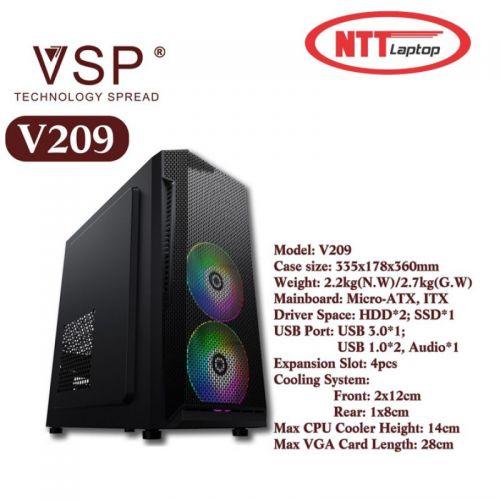 Case VSP V209 LED RGB - USB 3.0