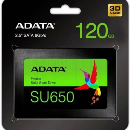 Ổ cứng SSD 120G Adata SU650 Sata III 6Gb/s (ASU650SS-120GT)