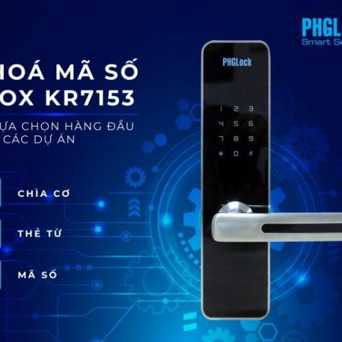 KHÓA ĐIỆN TỬ PHGLOCK KR7153