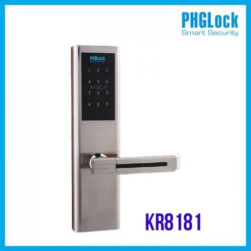 Khóa điện tử cho căn hộ cao cấp PHGLOCK KR8181