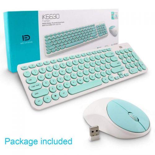 Combo Bàn phím và chuột không dây Wireless FD iK6630