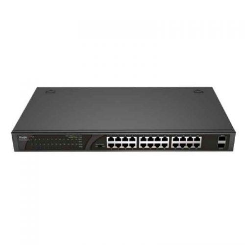 Switch Reyee RG-ES126G-LP-L - Unmanaged Switch PoE 24 cổng