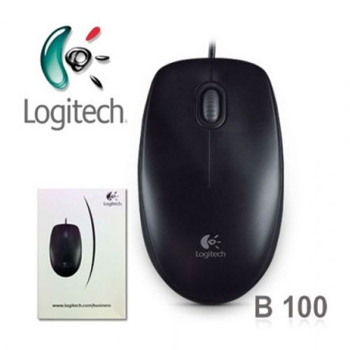 Chuột máy tính Logitech B100 Đen