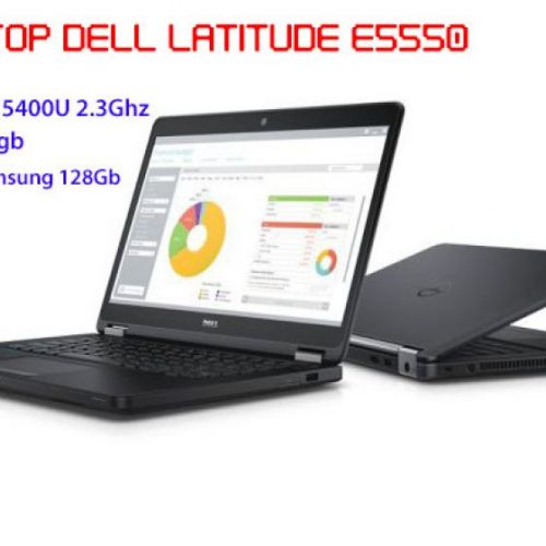 Laptop Dell Latitude E5550 Like New - Core I5-5300U/4Gb/SSD 128Gb/Full HD