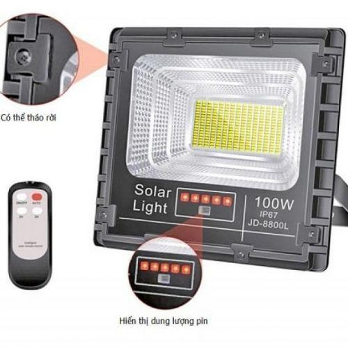 Đèn năng lượng mặt trời JINDIAN JD-8800L (100w)