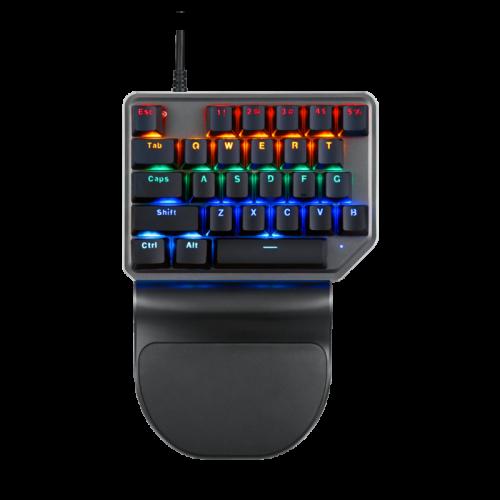 Motospeed K27 One Hand Game Backlight  Mechanical Keyboard