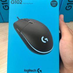 Chuột chơi game Logitech G102 Prodigy Gaming (Đen)