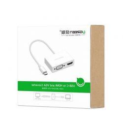 Cáp Chuyển USB Type C to HDMI và VGA