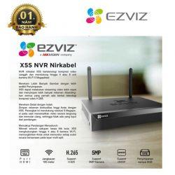 Đầu ghi hình camera IP Wifi 4 kênh EZVIZ CS-X5S-4W