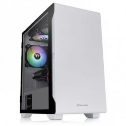 Case Thermaltake White/Win/SPCC/Tempered Glass*1/120mm Standard Fan*1