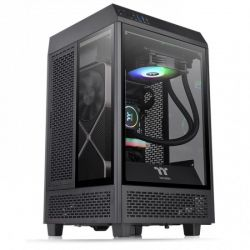 Case Thermaltake The Tower 100 MINI/Black/Win/SPCC/Tempered Glass*3