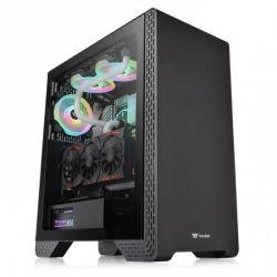 Case Thermaltake S300 TG/Black/Win/SPCC/Tempered Glass*1