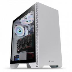 Case Thermaltake S300 TG Snow/White/Win/SPCC/Tempered Glass*1