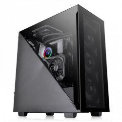 Case Thermaltake Divider 300 TG/Black/Win/SPCC/Tempered Glass*2/120mm Standard Fan*1