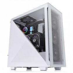 Case Thermaltake Divider 300 TG Snow/White/Win/SPCC/Tempered Glass*2/120mm Standard Fan*1