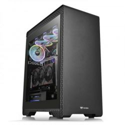 Case Thermaltake S500 TG/Black/Win/SPCC/Tempered Glass*1/Standard 140mm Fan*2