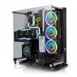 Case Thermaltake Core P5 TG V2 Black/Black/Wall Mount/SGCC