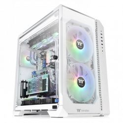 Case Thermaltake View 51 TG Snow ARGB/White/Win/SPCC/Tempered Glass*3/200mm ARGB Fan*2 + 120mm ARGB Fan*1/MB Sync