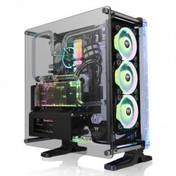 Case Thermaltake DistroCase 350P/Black/Win/SPCC/PMMA/Tempered Glass*1