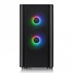 Case Thermaltake V150 TG ARGB Breeze Edition/Black/Win/SPCC/Tempered Glass*1/ Mesh Front Panel/120mm ARGB Fan*3