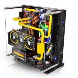 Case Thermaltake Core P3 TG/Black/Wall Mount/SGCC/Tempered Glass*1/Color Packing