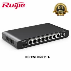 Switch Poe 24 cổng Ruijie RG-ES126G-P-L. Công suất 370W