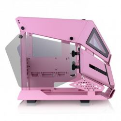 Case Thermaltake AH T200 Pink/Pink/Win/SPCC/5mm Tempered Glass*2