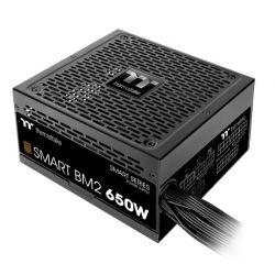 Nguồn Thermaltake Smart BM2/0650W/Semi Modular/Non Light/Full Range/Analog/80 Plus Bronze/EU/JP Main CAP/All Flat Cables