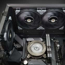 Fan Thermaltake TOUGHFAN 12 Radiator Fan 1Pack/Fan/12025/PWM 500~2000rpm/Black