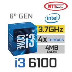 CPU Intel Core i3 6100 3.7 GHz 3MB HD ( TRAY )