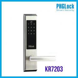 Khóa cửa điện tử cho nhà phố PHGLOCK KR7203