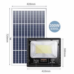 Đèn năng lượng mặt trời JINDIAN JD-8300L (300w)