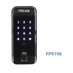 Khóa vân tay cho cửa gỗ, cửa sắt không tay cầm PHGLOCK FP9190