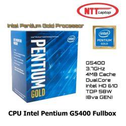 CPU Intel Pentium G5400 Fullbox