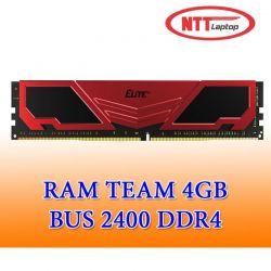 Ram 4GB Team Elite DDR4 2400MHz Tản Nhiệt