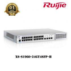 Thiết bị chuyển mạch Switch ruijie XS-S1960-24GT4SFP-H