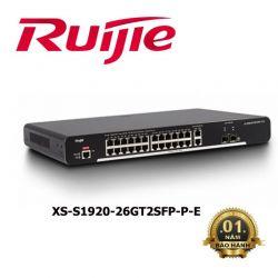Thiết bị chuyển mạch RUIJIE XS-S1920-26GT2SFP-P-E