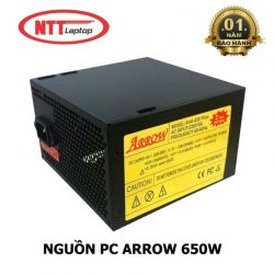 NGUỒN PC ARROW AHA - 650 PLUS