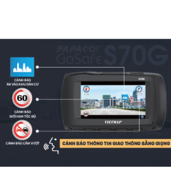 Bộ PAPAGO GOSAFE S70G