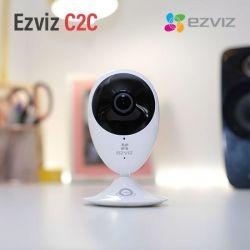 Camera Wifi Ezviz C2C 1080P Panoramic (Tặng Kèm Thẻ 32GB)