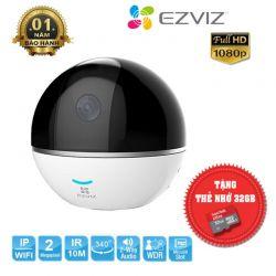 Camera wifi đa năng theo dõi chuyển động EZVIZ CS-CV248 C6T 1080p + Tặng Kèm Thẻ Nhớ 32Gb