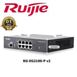 Gateway tích hợp cổng PoE RUIJIE RG-EG2100-P V2