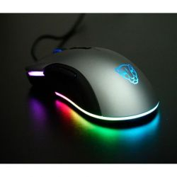 Chuột MOTOSPEED V70 (PW3325) NEW RGB Gaming có LED thay đổi theo DPI xám