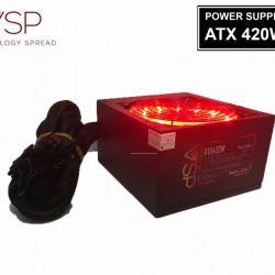 Nguồn VSP 420W CST fan 12cm led full box tặng dây nguồn