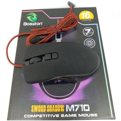 Chuột Bosston M710 chuyên game LED RGB