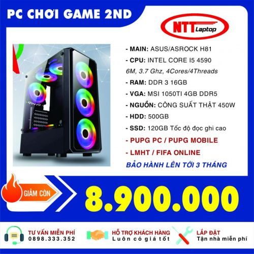 PC CHƠI GAME 2ND